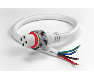 4 Pin IP68 Waterdichte Pigtail Connector RGB Led Strips