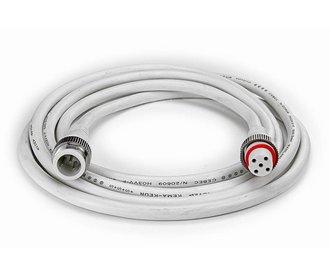 5 Pin IP68 Waterdichte Verlengkabel van 2-4 meter voor RGBW Led Strips