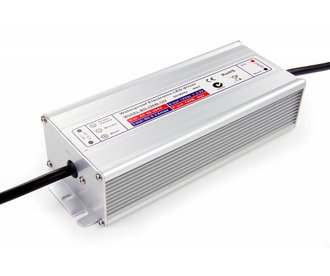 12V DC Geschakelde Voeding. 200W 16A. Waterdicht (IP67)