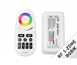 Mi·Light RF RGBW Creative 1-kanaals controller 12V-24V met afstandsbediening