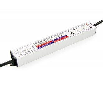 24V DC Geschakelde Voeding. 30W 1,25A. Waterdicht (IP67)