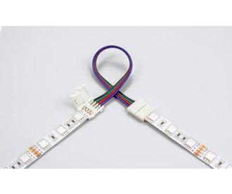 Flexibele Connector voor RGB Led Strips   Soldeervrij