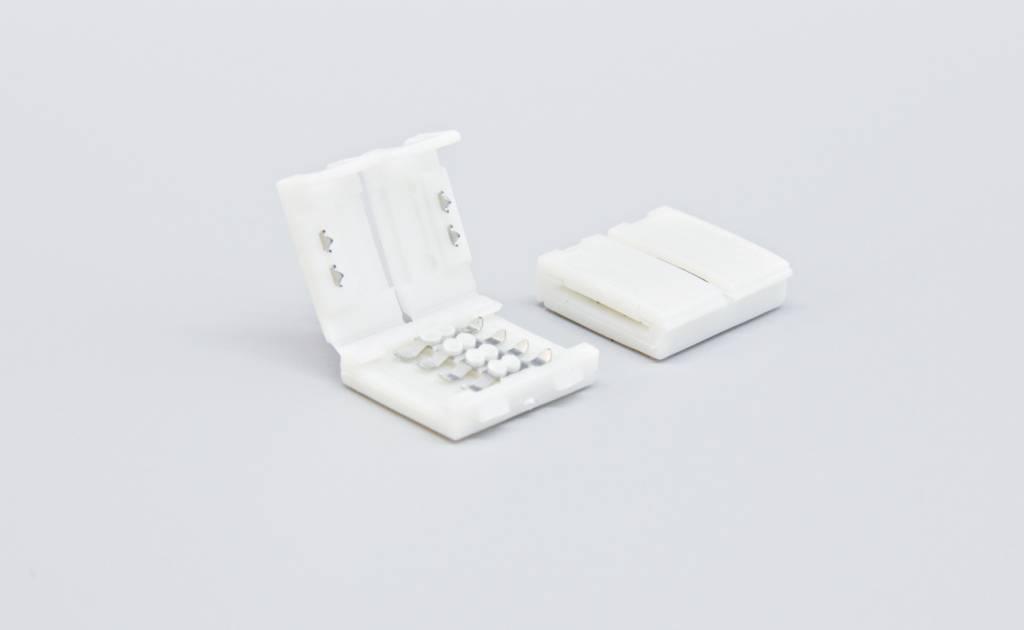 Connector voor 4 Pin RGB Led Strips 10mm | Soldeervrij