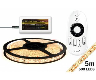 Mi·Light Warm Wit Led Strip | 120 Leds pm Type 3528 9,6W pm uitbreidingset