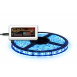Mi·Light RGB Led Strip uitbreidingsset met controller en adapter | 5m 60 Leds pm Type 5050 12V 14,4W pm IP65