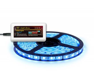 RGB LED strip 300 leds, via Wifi & RF te bedienen (uitbreiding)