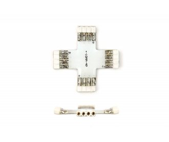 X-Connector Female 4 Pin voor 10mm RGB Led Strips