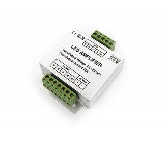 RGBW LED Strip Versterker. 4 x 6 Ampère.