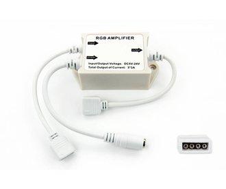 RGB Ledstrip versterker 12-24 Volt 3 x 3 Amp