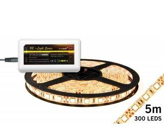 Mi·Light LED strip set Warm Wit 300 leds 72W 12V 5M IP65 (uitbreiding)