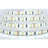 Dual White LED strip - CT Variabel warm wit tot daglicht - 2400K~6000K - 24Watt per meter - type 2835 leds