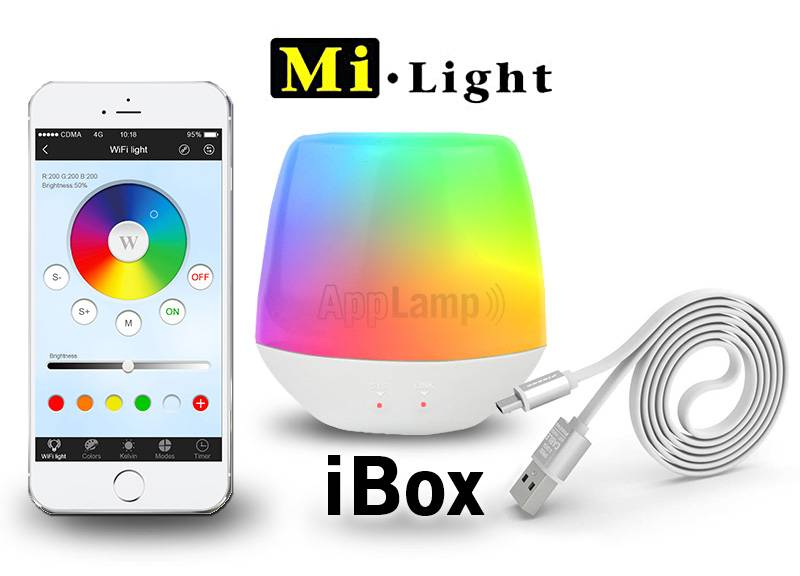 Wifi iBox, Mi-Light IBOX V6 bridge met sfeer LED lampje