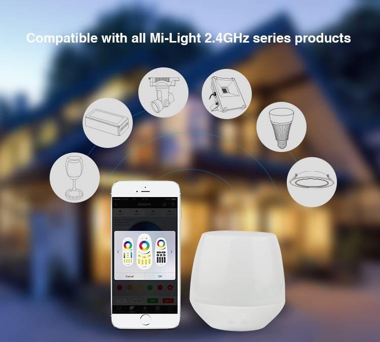 Mi·Light ACTI€! Wifi iBox1, Mi-Light MiBoxer bridge met sfeerlampje