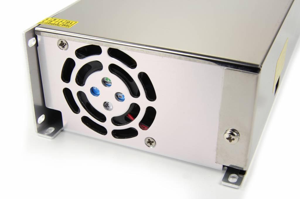 12V DC - 480 Watt - 40 Ampere geschakelde voeding