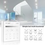 Mi·Light Mi-Light Opbouw Touch WandBediening Dimmer 4-zone, Enkele kleur, AAA Batterij