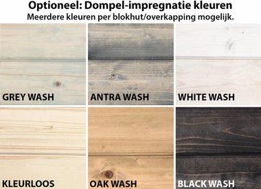 Dompel-impregnatie in kleur
