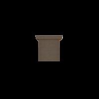 DWF Houten overkapping plat dak 200 x 250cm