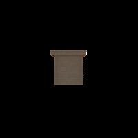 DWF Houten overkapping plat dak 200 x 200cm