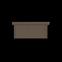 DWF Houten overkapping plat dak 500 x 250cm