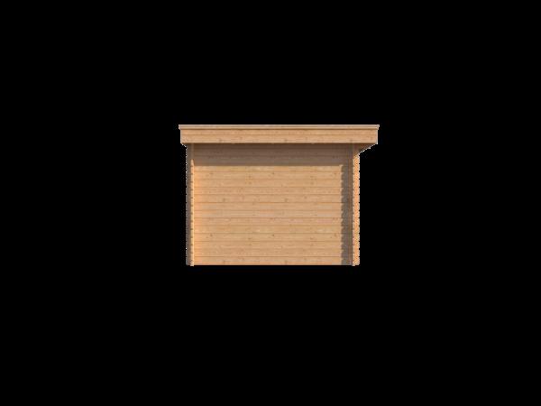 DWF Houten overkapping plat dak 250 x 300cm