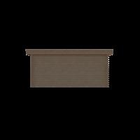DWF Houten overkapping plat dak 500 x 300cm