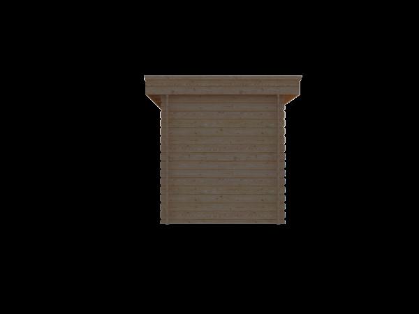 DWF Blokhut plat dak 200 x 250cm