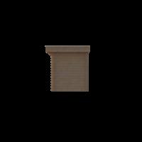 DWF Blokhut plat dak 150 x 200cm