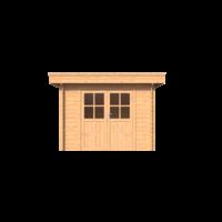 DWF Blokhut plat dak 300 x 200cm