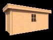 DWF Blokhut plat dak 500 x 200cm