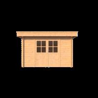 DWF Blokhut plat dak 350 x 250cm