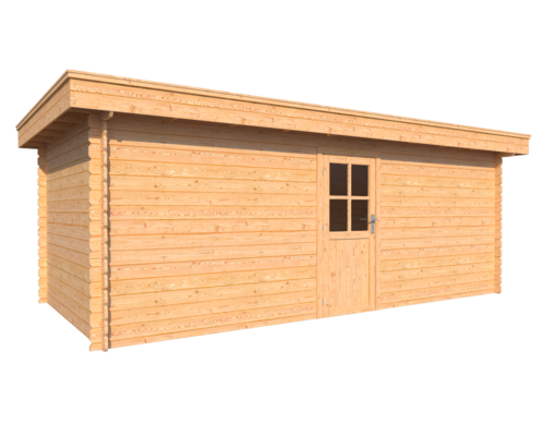 DWF Blokhut plat dak 600 x 300cm