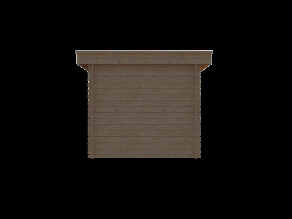 DWF Blokhut plat dak 250 x 300cm