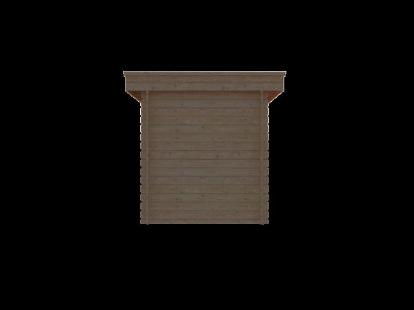 DWF Blokhut plat dak 200 x 300cm
