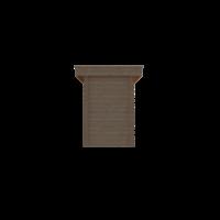 DWF Blokhut plat dak 150 x 300cm