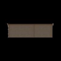 DWF Blokhut met overkapping lessenaar dak 300 x 200 + 400cm