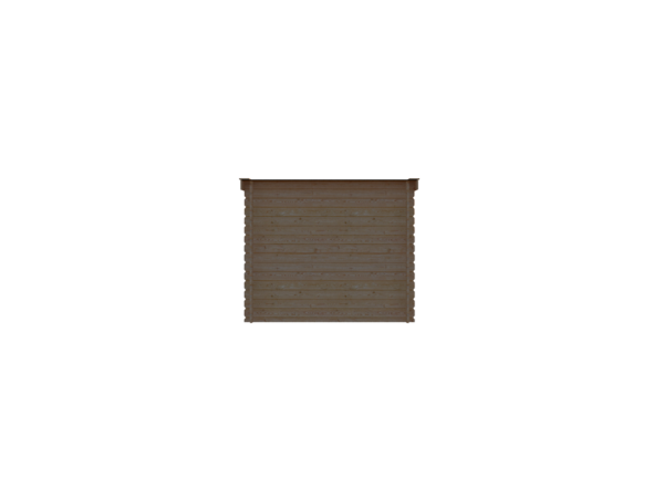 DWF Houten overkapping lessenaars dak 250 x 200cm