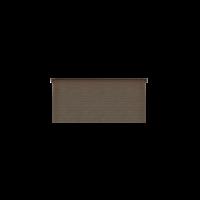 DWF Houten overkapping lessenaars dak 450 x 200cm