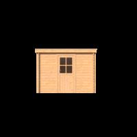 DWF Blokhut lessenaar dak 300 x 200cm