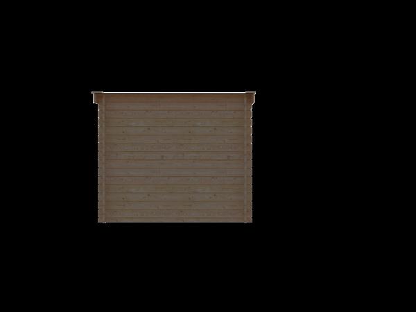 DWF Blokhut lessenaar dak 250 x 250cm