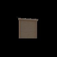 DWF Blokhut lessenaar dak 400 x 200cm