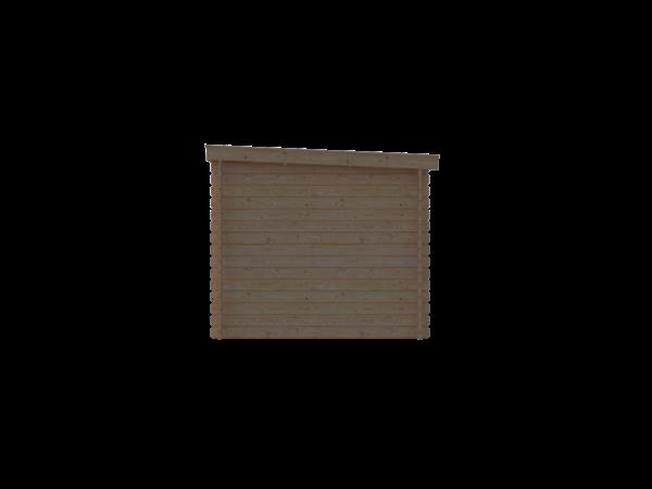 DWF Blokhut lessenaar dak 150 x 250cm