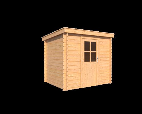DWF Blokhut lessenaar dak 250 x 200cm