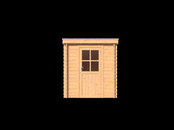 DWF Blokhut lessenaar dak 200 x 250cm