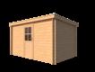 DWF Blokhut lessenaar dak 400 x 250cm