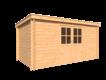 DWF Blokhut lessenaar dak 450 x 250cm