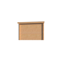 DWF Blokhut lessenaar dak 150 x 300cm