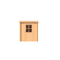 DWF Blokhut lessenaar dak 200 x 300cm