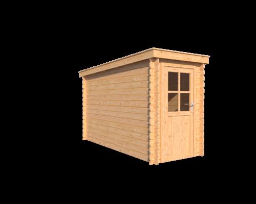 DWF Blokhut lessenaar dak 150 x 350cm  -
