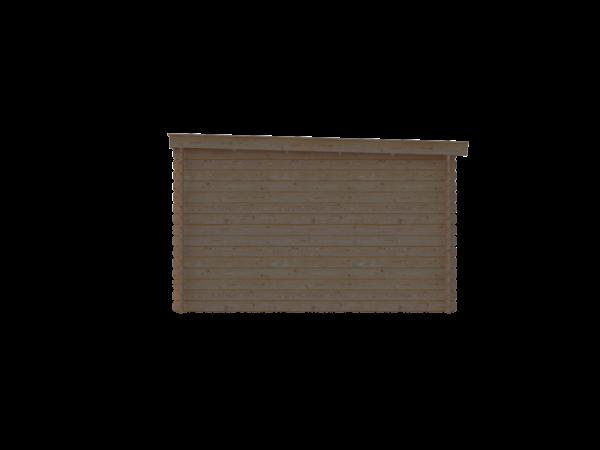 DWF Blokhut lessenaar dak 200 x 350cm