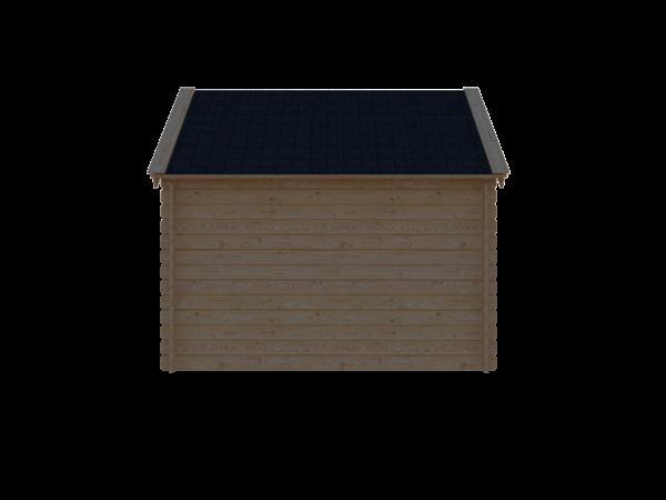 DWF Blokhut kapschuur 300 x 200cm